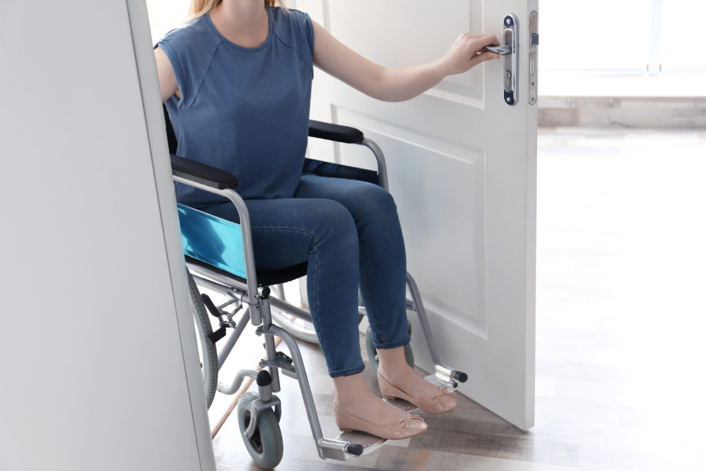 drzwi wewnętrzne dla osób niepełnosprawnych porta